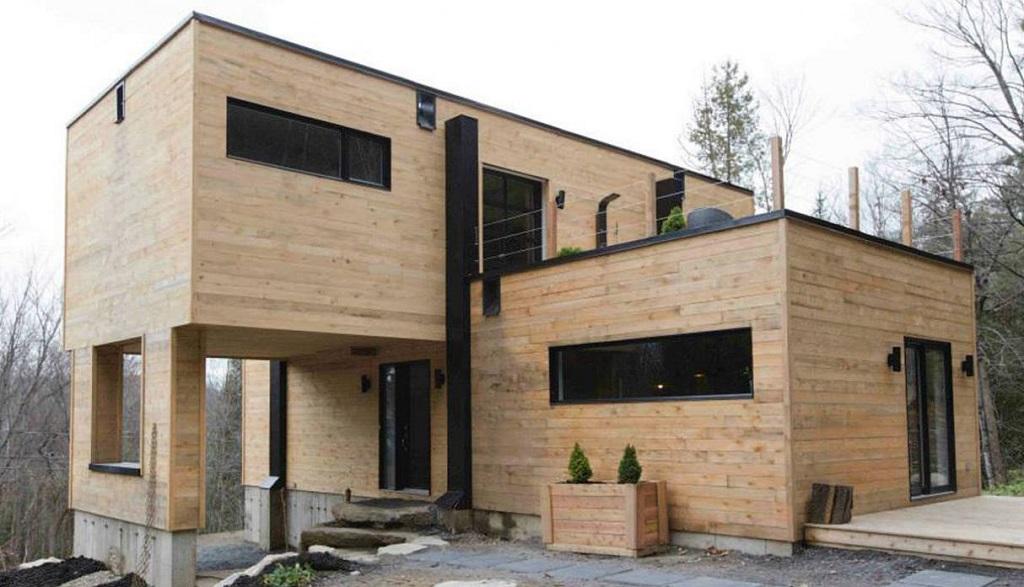 Casas contenedor y ecología