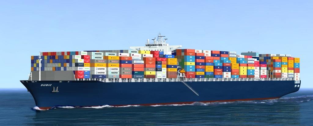 El contentedor en el transporte marítimo